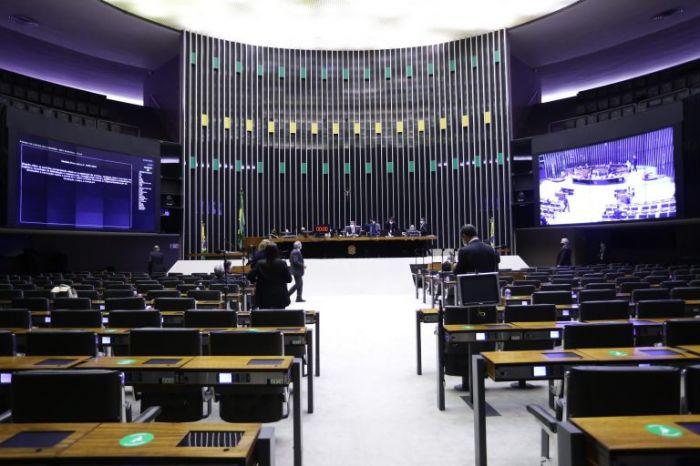 Sessão do Plenário analisa MP que facilita compra de vacinas - (Foto: Najara Araújo/Câmara dos Deputados)