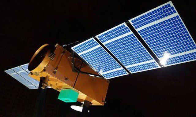 Projeção do satélite Amazônia 1 - (Foto: Divulgação/INPE)