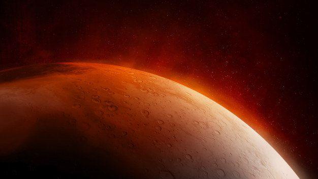 Substância foi encontrada em barrancos situados no equador marciano - (Foto: Freepik)