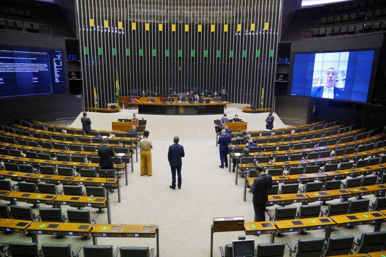Sessão do Plenário da Câmara dos Deputados - (Foto: Pablo Valadares/Câmara dos Deputados)