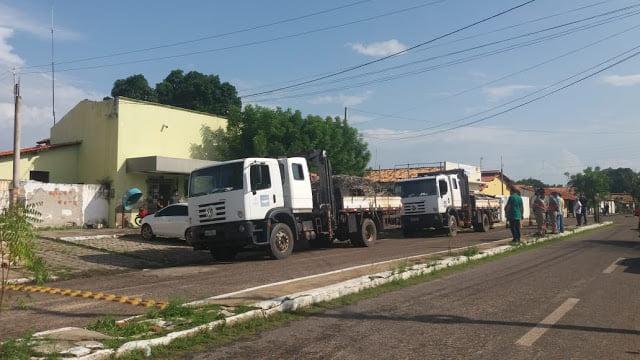Polícia prende 3 pessoas em Buriti dos Lopes e recupera mais de 6 toneladas de material furtado da Equatorial