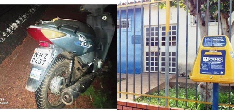 PM recupera motocicleta furtada em frente agência dos correios no PI