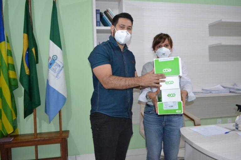 Prefeita da cidade de Esperantina compra testes com o próprio salário e doa para Secretaria de Saúde