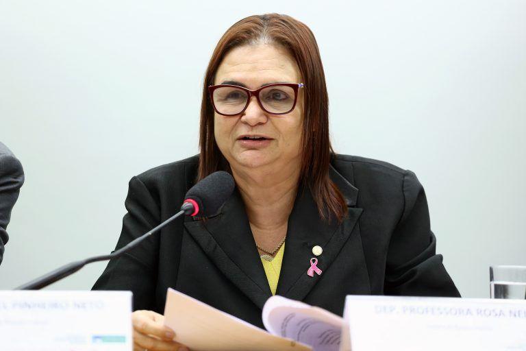 A autora da proposta, deputada Professora Rosa Neide - (Foto: Vinicius Loures/Câmara dos Deputados)