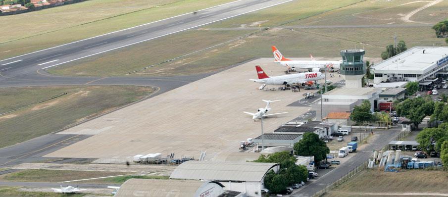 Aeroporto de Teresina é arrematado em lote de R $ 754 milhões - Foto: Reprodução / Infraero