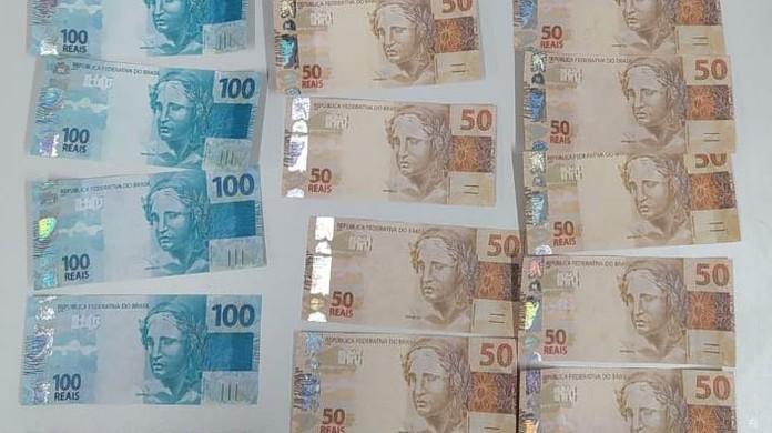 PF prende suspeito com R$ 2 mil em dinheiro falso em agência dos Correios - Foto: G1 PI