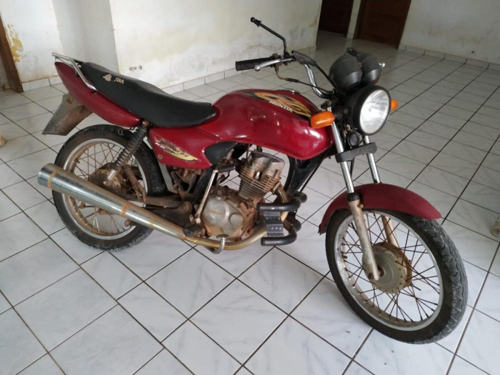 Moto roubada em Barras é recuperada pela Polícia Militar