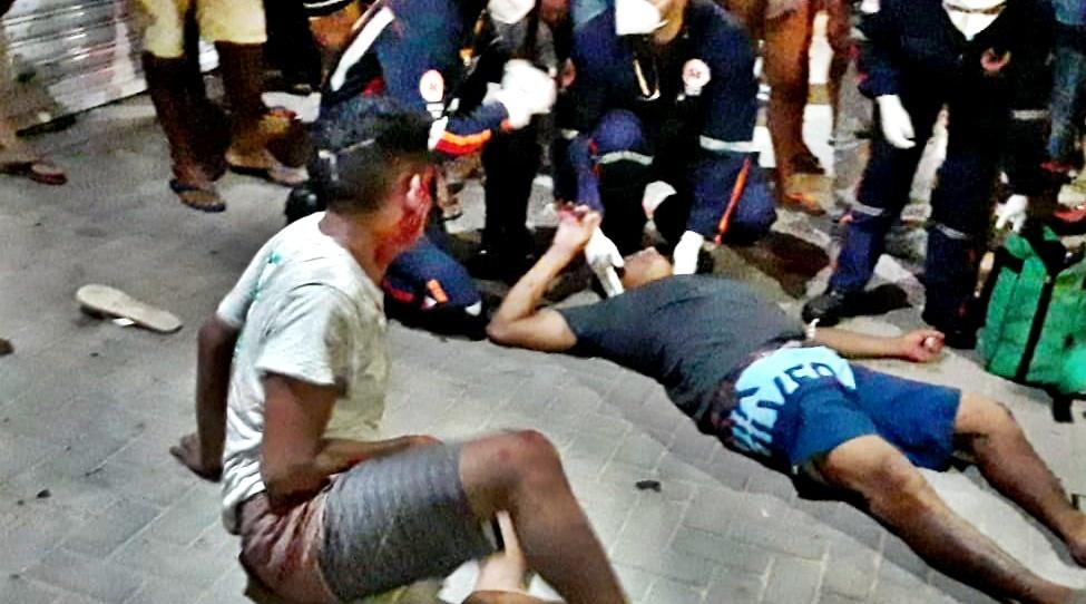 Suspeito de assalto fratura perna e é linchado pela população no Piauí
