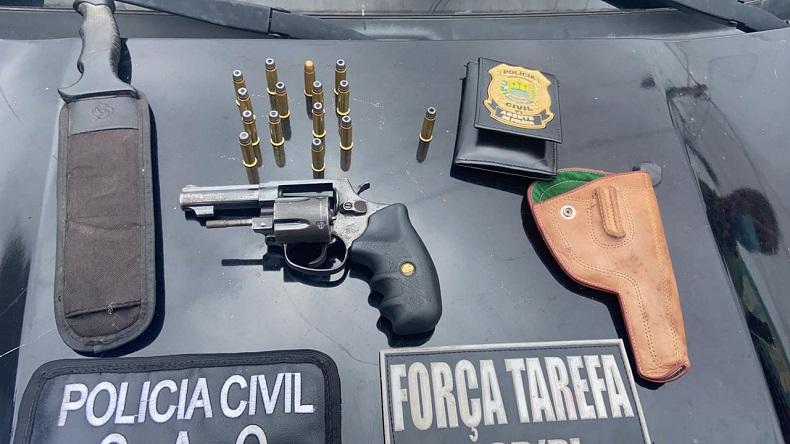 Empresário suspeito de atirar na cunhada é preso no Piauí - Foto: Divulgação/Polícia Civil
