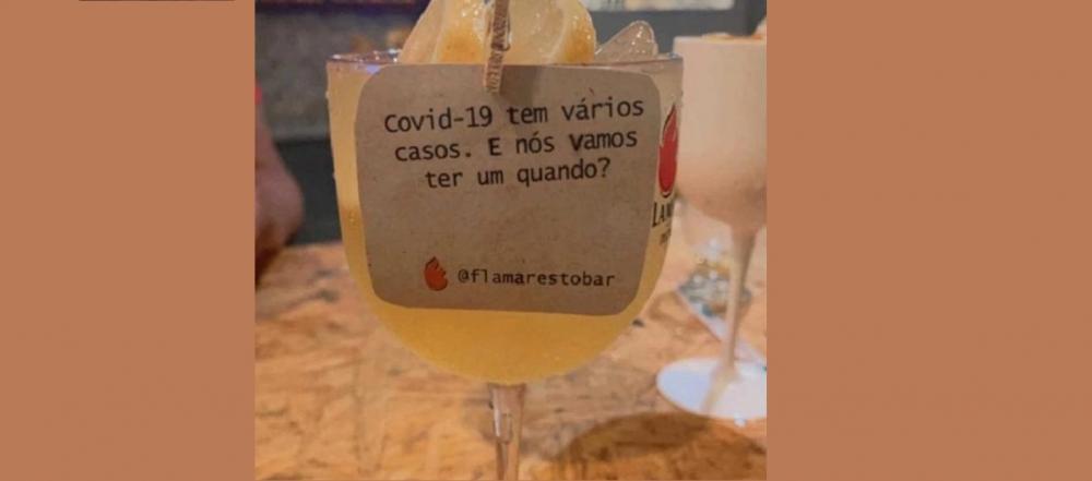 Bar do Piauí é alvo de críticas nas redes sociais após fazer 'piada' sobre casos de Covid-1