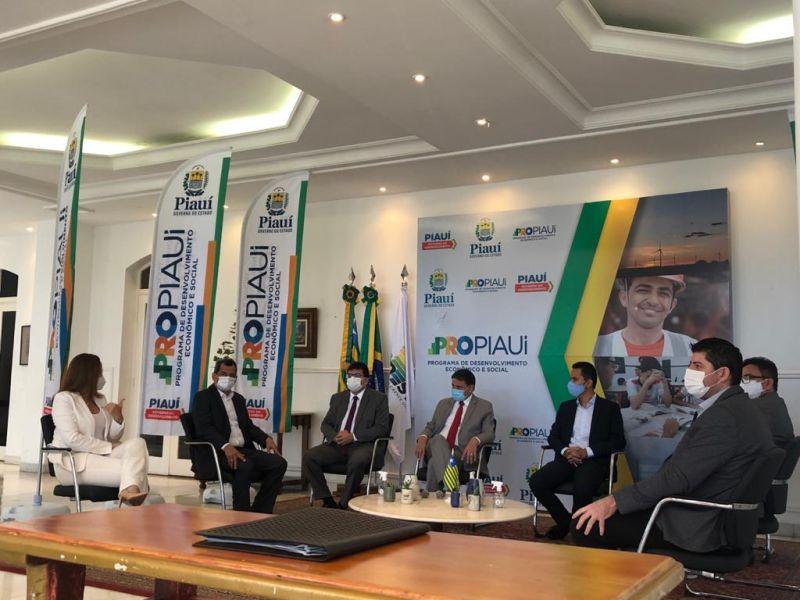 Nova etapa do PiauíConectado prevê implantação de fibra óptica em 100% do estado