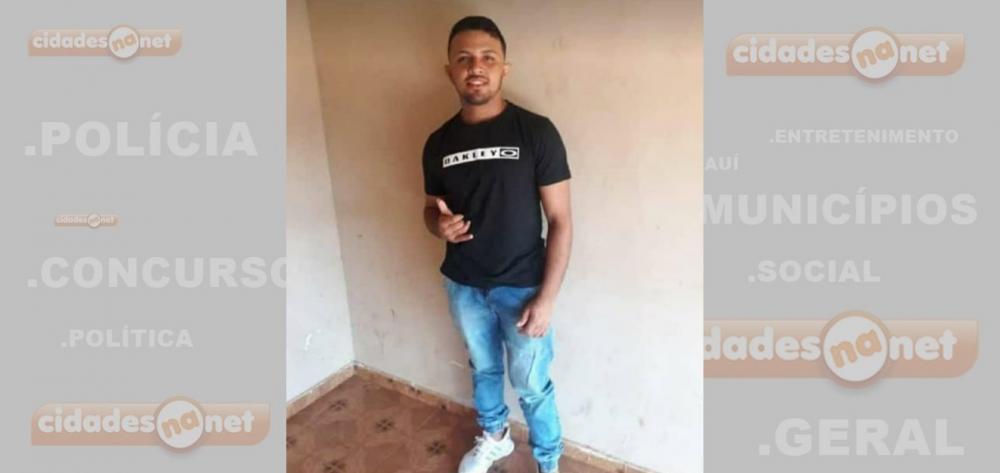 Jovem falece vítima de acidente de moto; chocou-se contra uma parede
