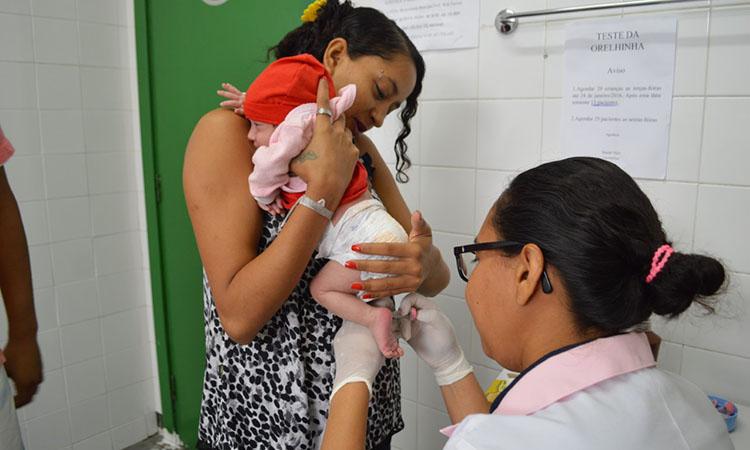 Teste do pezinho gratuito pode detectar 50 doenças em bebês - Foto: CCom Piauí