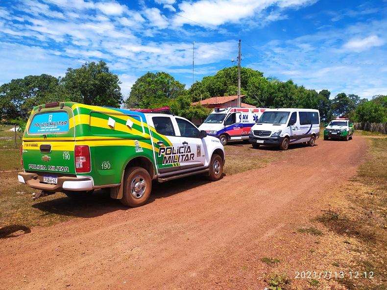 Homem tem surto é contido por equipes do CAPS e da PM em Barras - Foto: PM