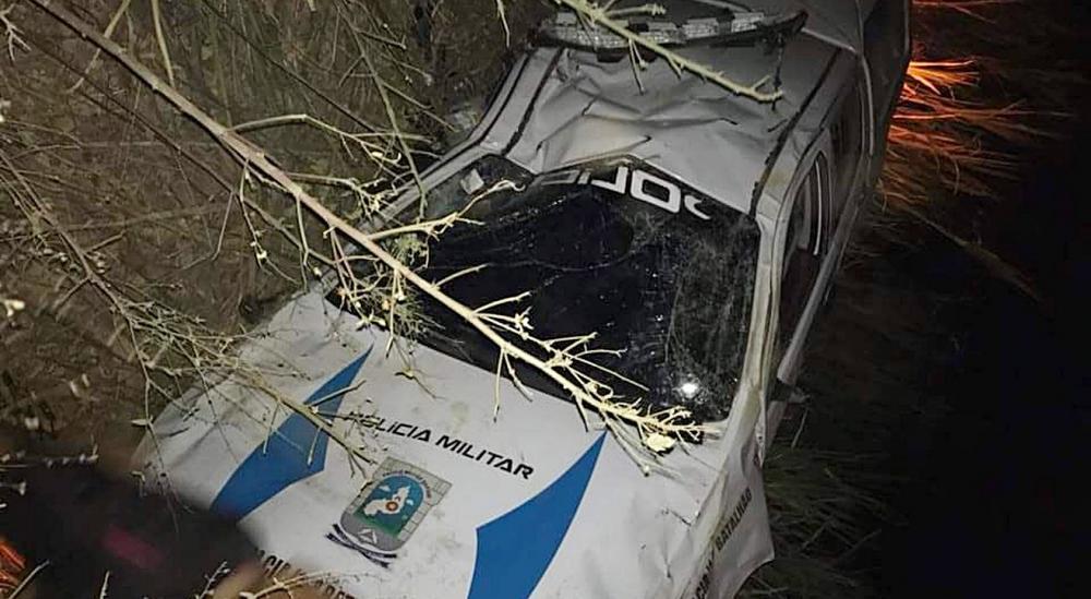 Policial fica ferido em acidente com viatura, no Piauí; Corregedoria da PM investiga