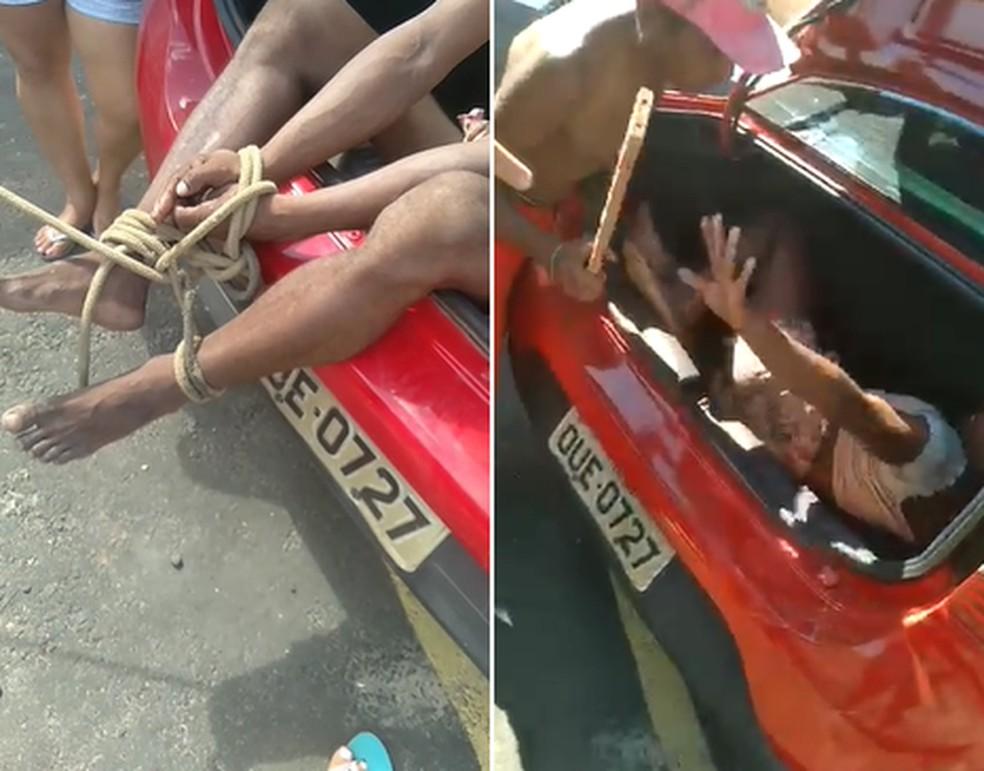 Travesti é presa, espancada e jogada em porta-mala de carro no Piauí