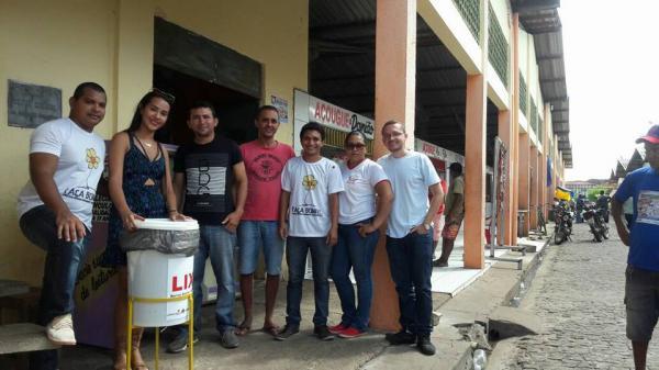 Projeto social envolvendo jovens de Barras cria lixeiras sustentáveis