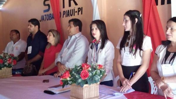 Abertura da XI Conferência Municipal de Assistência Social de Jatobá do Piauí