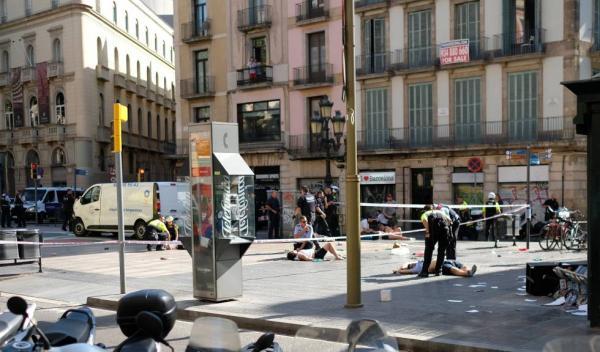 Piauiense fica impedido de sair de loja após atentado na Espanha