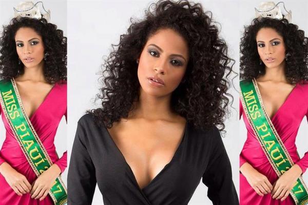Vote para Monalysa Alcântara ficar no top 16 do Miss Universo