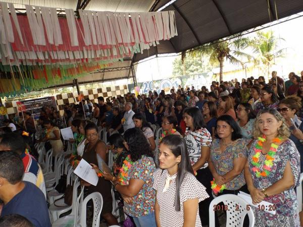 Ano letivo 2018 em Barras PI começa com a V Jornada Pedagógica