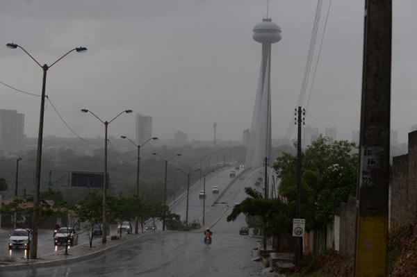 Meteorologia prevê chuvas até o fim de semana na região norte do Piauí