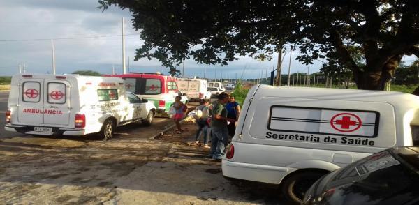 PRF apreende 9 ambulâncias de prefeituras do Piauí na BR-316