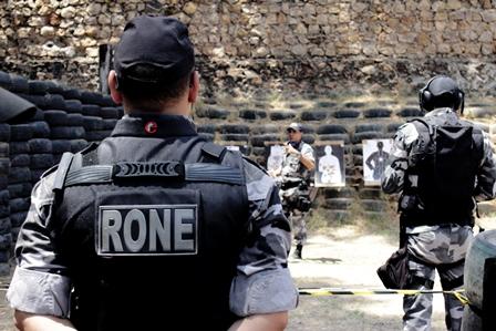RONE PRENDE CINCO SUSPEITOS DE CRIMES NA CAPITAL