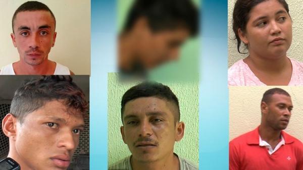 Cinco presos e um menor apreendido acusados de esquartejamentos no litoral