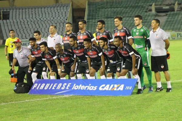 River derrota o Altos pelo Campeonato piauiense 2018
