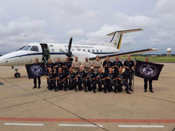 Curso de Operações Especiais/PCPI embarca para o RJ para treinamento