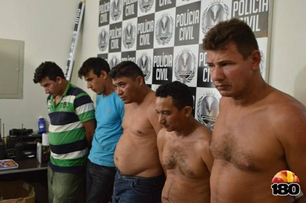 Assaltantes que atuavam em Barras e região são presos pelo Greco