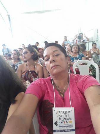 Vereadora de Barras PI participa da 13ª edição do Fórum Social Mundial, na Bahia