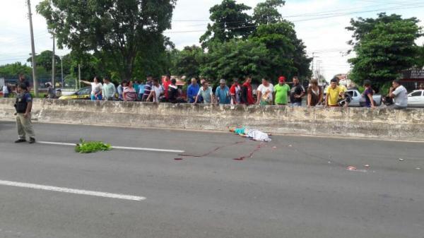 Homem tem cabeça esmagada por caminhão na BR 316 no Piauí