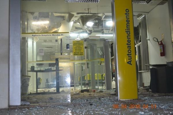 Banco do Brasil e a agência dos Correios são alvos de criminosos no PI