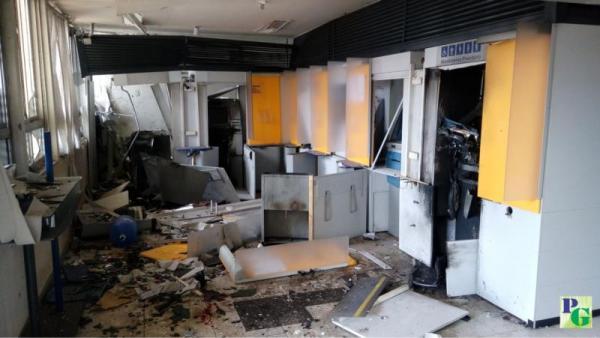 Bando de assaltantes explodem agência do banco do Brasil em Gilbués PI