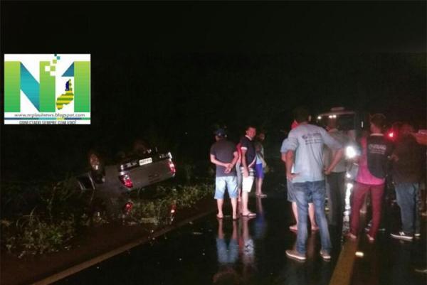Diretor de sindicato do Piauí morre em acidente na BR-135 em Cristino Castro PI