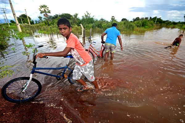 Subiu para 321 o número de famílias removidas de locais de risco na cidade de José de Freitas