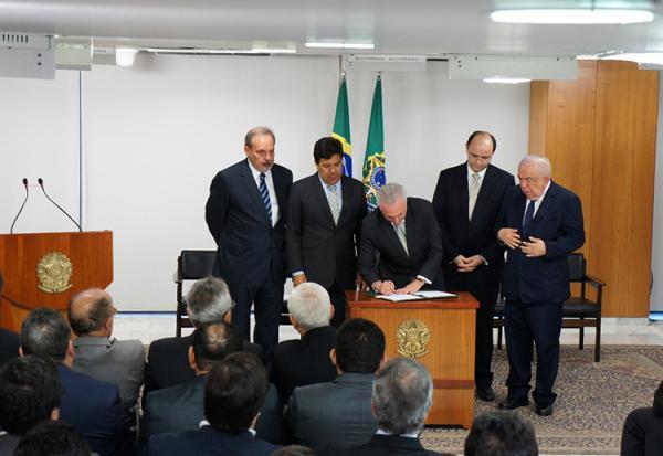 Presidente Michel Temer sanciona criação da Universidade do Delta do Parnaíba