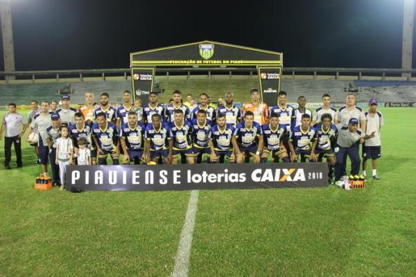 Altos Campeão piauiense de 2018 - placar final de Altos 4 x 2 River