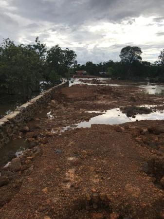 Passa de 200 desabrigados em Cabeceiras do Piauí PI