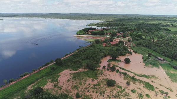 Barragem do Bezerro: Emgerpi proíbe ocupação e retirada de pedra