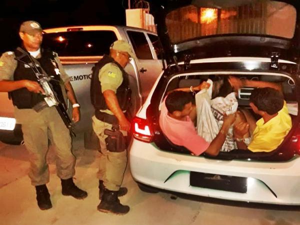 Jovens são presos por receptação e furto de motos em Buriti dos Lopes