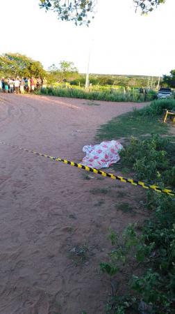 Homem é assassinado com vários tiros na cidade de Jaicós; a esposa presenciou