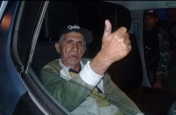 Idoso de 73 anos é preso por porte ilegal de arma no interior do PI
