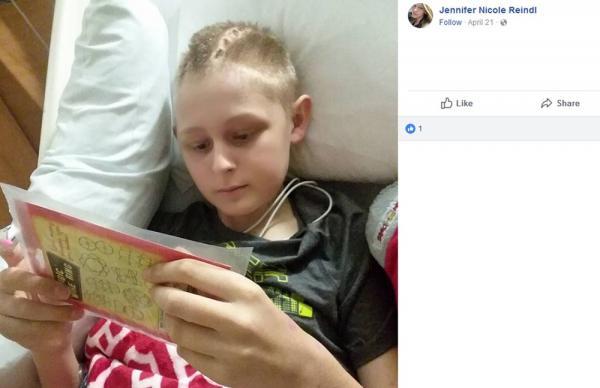 Garoto recupera a consciência depois de pais assinarem doação de seus órgãos