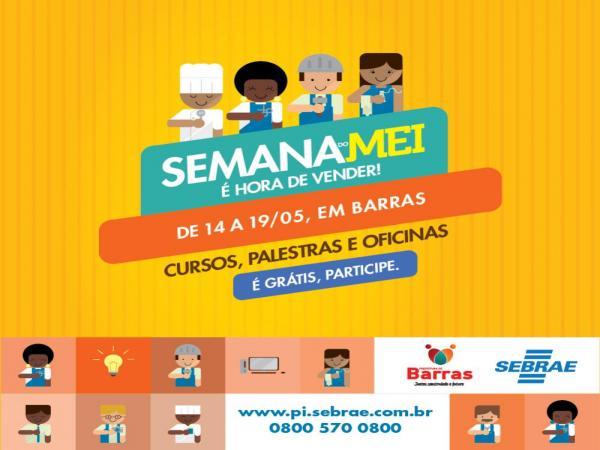 Sala do Empreendedor (SEBRAE) convida a população para participar das atividades da Semana do MEI