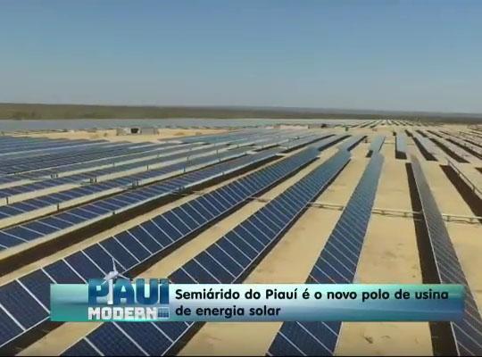 Piauí é 13º produtor de energia solar do Brasil