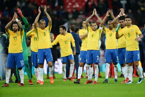 Brasil é segundo lugar no ranking da FIFA