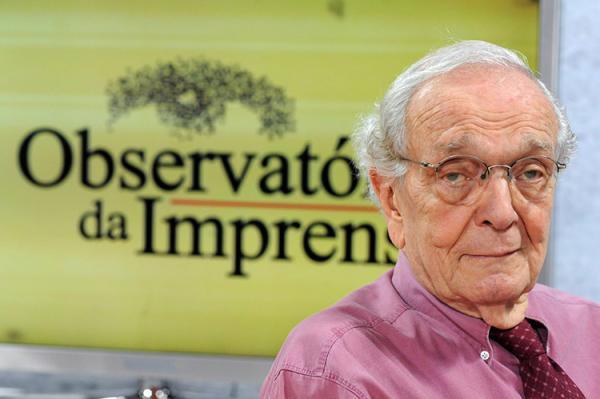 Morre Alberto Dines, fundador do Observatório da Imprensa